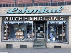 Schaufenster Buchhandlung Lehmkuhl
